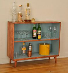 Nice Nice Mid Century Vintage Solid Wood Bookcase   Trevi Vintage Design By  Www.   Best Home Decor Designs