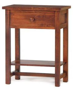 Free Shaker Night Stand Plans Woodworking Plans