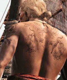 Edward Kenway Tattoos