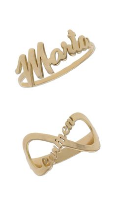 Anillos de oro 18K  personalizados  #joyas #anillos #sortijas #oro #gold #jewelry #moda #tendencia #fashion #look #joyaspersonalizadas #trendy #accesorios #loveit Clothes Hanger, Bracelets, Gold, Jewelry, Fashion, Diamonds, Silver Rings, Jewelery, Accessories
