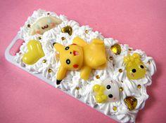 Pikachu Phone Case 3D Phone Case Pokemon Phone by CaravanOfCases
