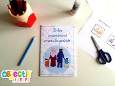 Téléchargez GRATUITEMENT le livret du bon comportement envers les parents en Islam et apprenez à vos enfants quels sont leurs droits et leurs devoirs.