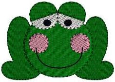 Frog Spring Mini Designs Embroidery Design Pattern 4 by Dave7867, $1.99