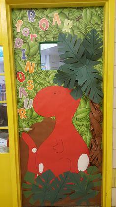 Ideas Classroom Door Book Theme Open House For 2019 Dinosaur Bulletin Boards, Dinosaur Classroom, Preschool Classroom Decor, Toddler Classroom, Classroom Door, Preschool Art, Classroom Themes, Preschool Activities, Preschool Centers