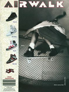 Airwalk Shoes - Jeremy Klein Ad (1990)