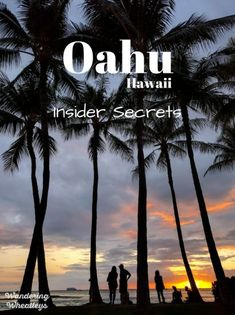 Insider Secrets to Travel Like a Local on Oahu Hawaii. If you're heading to Oahu you need to read these tips to save money and experience Hawaii like a local. By Wandering Wheatleys ( Travel Trav Hawaii Vacation, Vacation Places, Hawaii Travel, Vacation Spots, Vacation Ideas, Hawaii Honeymoon, Family Vacations, Dream Vacations, Hawaii Life