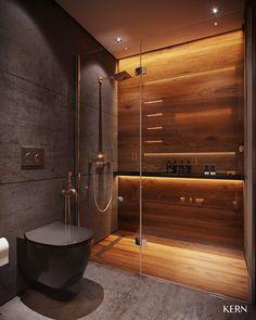 Washroom Design, Toilet Design, Bathroom Design Luxury, Bathroom Layout, Modern Bathroom Design, Home Room Design, Home Interior Design, Bathroom Design Inspiration, Behance