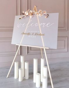 Frosted Acrylic Welcome Wedding Sign - Modern Wedding Decor - Acrylic Wedding Sign - Personalized Wedding Sign - Wedding Reception Sign Wedding Entrance Table, Wedding Reception Signs, Wedding Table Decorations, Wedding Signage, Personalized Signs, Personalized Wedding, Wedding Ideas Small Budget, Paper Flower Decor, Plexiglass