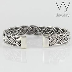 """10/"""" Details about  /Sterling Silver Plain 2.3mm Solid Rope Bracelet w// Lobster Clasp 7/"""""""