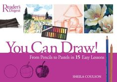 You Can Draw: From Pencil to Pastel in 15 Easy Lessons by Sheila Coulson, http://www.amazon.com/dp/0762106859/ref=cm_sw_r_pi_dp_l41Nrb1B18NH4