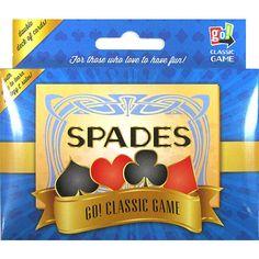 Spades 2 Deck Card Game $7.99