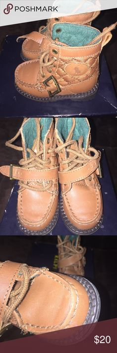 Ralph Lauren Polo Boots Toddler Size 5 Ralph Lauren Polo Boots Toddler Size 5. Good condition. There are a few scratches on the shoes but other than that they are in Good condition. Polo by Ralph Lauren Shoes Boots