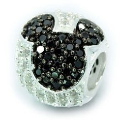 Mickey Mouse Sterling Silver Bead Charm Pandora, Love it!