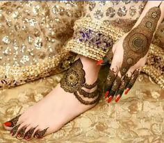 Check out this post  on mehandi, bridal created by Shabnam shaba (@shabnam47)  and top similar posts on mehandi, bridal, trendy products and pictures by celebrities and other users on Roposo.