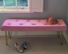 planning on upholstering an ottoman for storage
