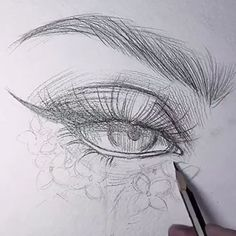 Pin by nicolemitchel on art in 2019 art sketches, draw, art drawings. Pencil Art Drawings, Art Drawings Sketches, Realistic Drawings, Cool Drawings, Drawing Faces, Indie Drawings, Drawing People Faces, Pencil Sketching, Eye Drawing Tutorials