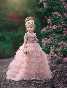 Our All Rosy Headband is matched perfectly with our Flower Her With Roses Frock No returns, exchanges or refunds on accessories due to hygiene reasons. Size Small fits and size Medium fits Not being restocked in future. Wedding Dresses For Kids, Gowns For Girls, Bridal Dresses, Girls Dresses, Baby Birthday Dress, Birthday Dresses, Baby Dress, Baby Girl Dress Patterns, Little Girl Dresses