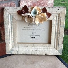 Reclaimed Barn Wood Picture Frame the by GlassGardenGorgeous, $35.00