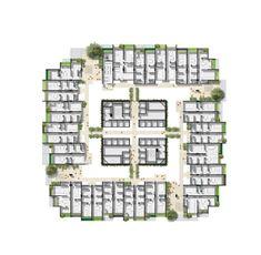 WOHA VERTICAL CITIES – Google Søgning Vertical City, Cities, Floor Plans, Google, City, Floor Plan Drawing, House Floor Plans