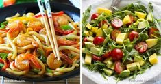 6Exercises for aFlat Belly That You Can DoRight inaChair Avocado Pasta, Avocado Salad, Pasta Salad, Creamy Cauliflower Soup, Le Diner, Healthy Diet Plans, Mets, Fat Fast, Flat Belly