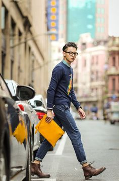 Hong Kong Street Style - Bob Trotta // Streetstyle Inspiration for Men! #WORMLAND Men's Fashion