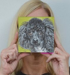 Custom dog painting of your pet! my newest! by PopArtPetPortraits, $70.00