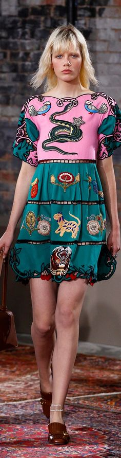 Gucci Pre Spring 2016 collection  -  Marjan Jonkman