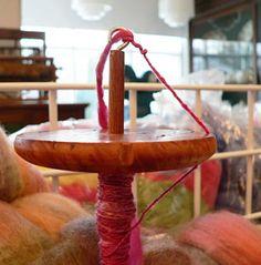 Spinning silk hankies