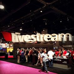 Visiting our friends at @livestream #NABShow