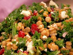 Get this all-star, easy-to-follow Lentil and Kale Salad recipe from Patrick and Gina Neely.