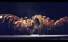 Lest We Forget performed by English National Ballet at The Barbican Picture: ALASTAIR MUIR
