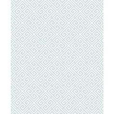 Omega Sky Geometric Wallpaper from the Symetrie Collection by Brewster... ($84) ❤ liked on Polyvore featuring home, home decor, wallpaper, wallpaper samples, geometric wallpaper, geometric home decor, sky wallpaper, diamond wallpaper and harlequin wallpaper