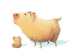 Capybara(x2)!