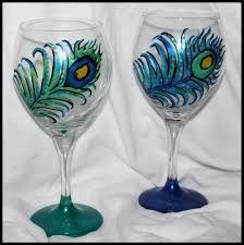 Peacock glasses!