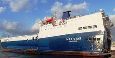 Το MED STAR ναυλώθηκε στη Blue Star Ferries. https://dimitriopelagos.blogspot.gr/2017/04/med-star-blue-star-ferries.html