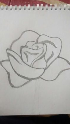 Most up-to-date Photo rose drawing bleistift Tips With this class, we'll take a look at the way to get the increased by using pastels. Were utilizing pastels along wit Easy Disney Drawings, Art Drawings Sketches Simple, Pencil Art Drawings, Love Drawings, Tattoo Sketches, Rose Art, Drawing Tutorials, Drawing Ideas, Drawing Tips