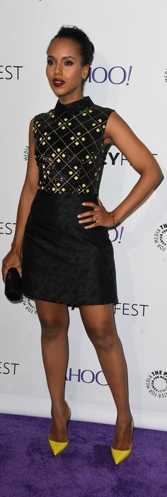 Kerry Washington | Red Carpet Style | PaleyFest