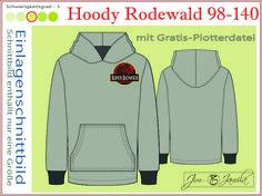 Kindermode - Hoody Rodewald Größen 98-140 - ein Designerstück von Jim-und-Jamila bei DaWanda