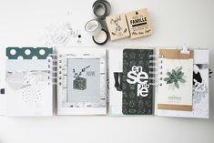 DDKB-12 Mini album photo de Noël – Kesi'Art, le blog ! Mini Albums Photo, Mini Albums Scrap, Album Photo, Washi, December Daily, Snail Mail, Mail Art, Scrapbooking, Simple