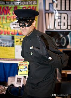 Kato, Green Hornet cosplay.