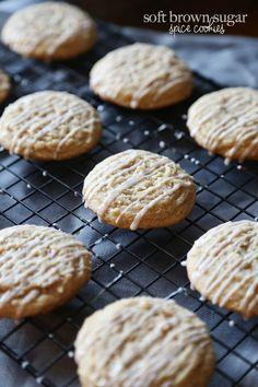 Soft Brown Sugar Spice Cookies -Buttery, soft and delicious! Perfect for all the Snickerdoodle lovers!