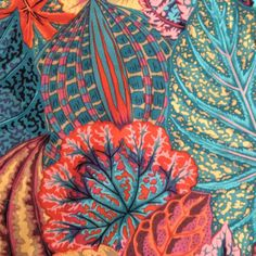 Philip Jacobs fabric Coleus OOP rare htfteal by anotherghostquilts