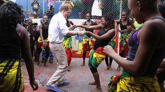 Książę Harry tańczy na Jamajce