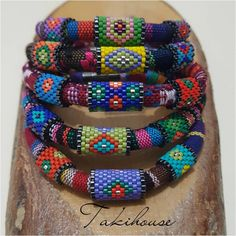 Daffodil bohemian bracelets are also complete😊 # fashionjewelry . Beaded Jewelry Patterns, Beading Patterns, Ladies Dress Watches, Crafts With Pictures, Bohemian Bracelets, African Jewelry, Bead Jewellery, Loom Patterns, Leather Jewelry