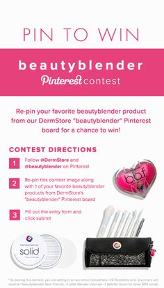 Pin for your chance to win! #beautyblenderpinlove