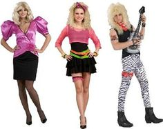 Simple and Cheap fancy dress and Halloween costume ideas Great fancy dress and Halloween costume ideas that are super easy to do. We have lots of fancy dress content on our site so please take a look! 80s Womens Fashion, 1980s Fashion Trends, 1980s Trends, 50 Fashion, Fashion Styles, Fashion Ideas, Fashion Outfits, Look Casual, Casual Chic