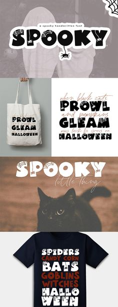 Spooky - A Quirky Halloween Font example image 2 Halloween Fonts, Halloween Design, Halloween Make Up, Cool Fonts, Awesome Fonts, Modern Fonts, Premium Fonts, Lower Case Letters, Design Crafts