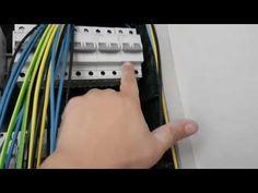 Conexión de circutos en cuadro eléctrico - YouTube