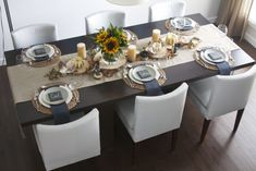 design: thanksgiving table setting by Nyla Free Designs