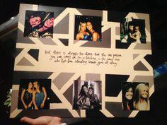 Baby S Best Friend Birthday Gift Modpodge Collage On